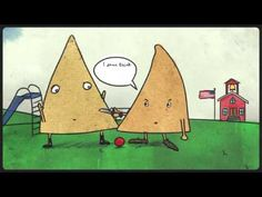 Husband animates joke about tortilla chips told by his drunk wife - YouTube