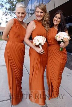 This is the shade of orange I want my maid of honor to wear