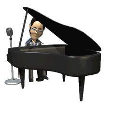 EL HOMBRE TOCA EL PIANO