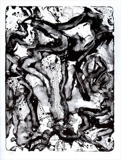 Willem De Kooning (1904-1997). Landscape at Stanton Street, , 1971 Lithograph.