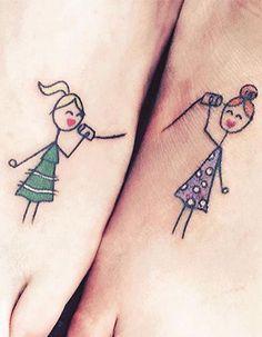Tatouage sœurs : nos idées de tatouages entre sœurs - Elle