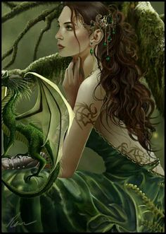 Love fantasy work with dragons :) Fantasy Dragon, Dragon Art, Fantasy Women, Dark Fantasy, Magical Creatures, Fantasy Creatures, Elfen Fantasy, Dragons, Photo Portrait