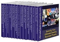 """The Ultimate Destiny Success System created and coauthored by Charles Betterton consists of 14 stand-alone programs to help you discover and manifest your ultimate destiny (whatever that means to you personally. These interactive how to guidebooks will  help you """"Solve Life's Ultimate Success Puzzles"""" in every area of life including: Realizing Your Potential, Loving Relationships; Attaining Prosperity; Achieving Success; Attaining Enlightenment; Fulfilling Your Purpose;  Peace and Balance… Areas Of Life, Achieve Success, Relationships Love, Guide Book, Destiny, Puzzles, Meant To Be, My Books, Purpose"""