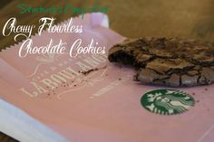 Starbuck's Copy-Cat Chewy Flourless Chocolate Cookies from That Harpist Can Cook!  These cookies taste just like the real thing!