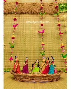 #dolls for #babyshower function @DecorbyKrishna is looking for franchises. Mail us decorbykrishna@gmail.com #bridesessentials #thegorgeousbride #ezwed #wedmegood #weddingsutra #shaadimagic #weddingsaga #thebigfatindianwedding #zankyouindia #traditionalbride #traditionalwedding #indianbride#telugubride #tamilbride #indianwedding #hinduweddings #bridesofindia #groomsofindia #shopzters #indianbridalmakeup #hindubride #bridesofindia #wedzo #haldi Housewarming Decorations, Diy Diwali Decorations, Indian Wedding Decorations, Festival Decorations, Diwali Diy, Wedding Doll, Wedding Cards Handmade, Background Decoration, Wedding Plates