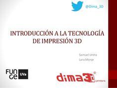DIMA 3D - Introducción a la tecnología de impresión 3D