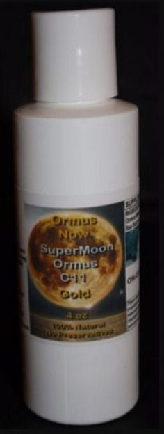 Ormus Minerals C11 Supermoon Gold Energy Boost Immune Boost  #OrmusNow