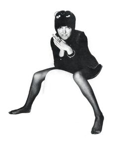 "Mary Quant: ""You have to work very hard at staying slim and it's a bore. But it's worth it. Mary Quant, Female Of The Species, Under The Stars, 1960s Fashion, Historical Pictures, Get In Shape, Snow White, Disney Characters, Fictional Characters"