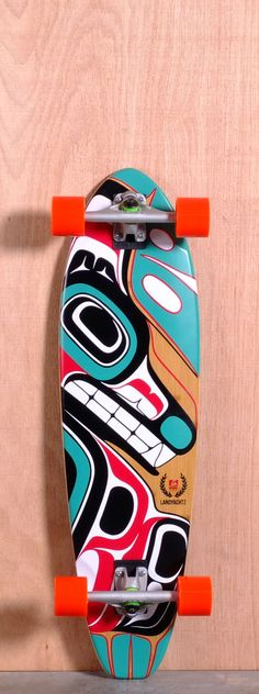 """The Landyachtz Bamboo Stout Longboard Complete is designed for Carving and Cruising. Ships fully assembled and ready to skate!  Function: Carving, Cruising  Features: Medium W Concave, Rocker, Wheel Wells, Mellow Kick Tail, Foam Padded Grip Tape  Material: 5 Ply Vertically Laminated Bamboo  Length: 36""""  Width: 9.9""""  Wheelbase: 23.5""""  Thickness: 9/16""""  Hole Pattern: Old School  Grip: Black"""