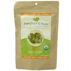 Organic CHEESY KALE Chips (2 oz) from Just Pure Foods