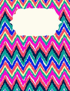 made some customizable binder covers with your favorite Lilly Prints . Chevron Wallpaper, Print Wallpaper, Wallpaper Backgrounds, Iphone Wallpapers, Live Wallpapers, Phone Backgrounds, Notebook Covers, Binder Covers, Diy Back To School
