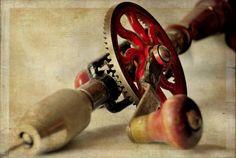 vintage hand drill