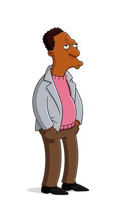 "C. Carlton ""Carl"" Carson Jr. Simpsons Drawings, Simpsons Art, Cartoon Drawings, Simpson Wallpaper Iphone, Funny Iphone Wallpaper, Los Simsons, Simpson Tv, Ralph Wiggum, Simpsons Characters"