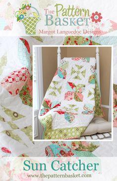 Sun Catcher quilt pattern Pretty!!