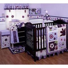 Love purple baby girl rooms