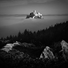When the mood is black & white by Miro Simko, via Behance Black White Photos, Black And White, Cool Photos, Beautiful Pictures, Spain, In This Moment, Palaces, World, Castles