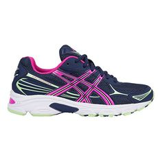Asics GelVanisher Shoe Womens Running 10 Indigo BluePink GlowGreen     To  view further for this item, visit the image link-affiliate link. Sports  Shoes 7bdadd6eae18