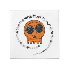 Avoid any messy dinners with Halloween napkins from Zazzle. Browse through our marketplace of paper and cloth napkins ranging in different styles and sizes. Halloween Skull, Happy Halloween, Party Napkins, Cloth Napkins, Different Styles, Paper