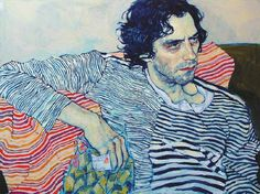 Hope Gangloff's Expressive and Visually Striking Portraits - This artist drawing style reminds me of Egon Shiele