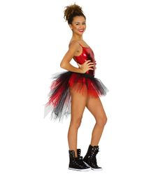 Red Queen  Tutu With Bustle - Style Number: N7036