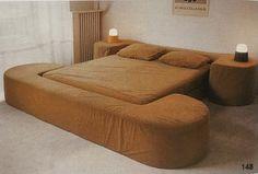 1970s •~• vintage bed