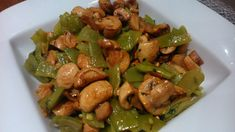 Receta de Receta de judías verdes con champiñones Cilantro Rice, Salad Recipes, Healthy Recipes, Shrimp Recipes Easy, Bariatric Recipes, Batch Cooking, How To Cook Quinoa, Healthy Life, Side Dishes