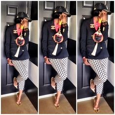 Marlo Hampton <~style game on point! High Class Fashion, Diva Fashion, Fashion Stylist, Trendy Fashion, Fashion Looks, Celebrity Style Inspiration, Celeb Style, Hot Outfits, Casual Outfits