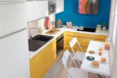 Petite cuisine : astuce et optimisation pour un petit espace toujours pratique et fonctionnel #cuisine #cuisineéquipée #petitecuisine #petitespace #astuce #malin #pratique #fonctionnel
