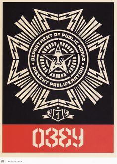 Obey Illustration