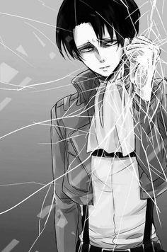 Levi :3 Anime Wallpaper Phone, Cool Anime Wallpapers, Sad Wallpaper, Animes Wallpapers, Trendy Wallpaper, Levi Anime, Otaku Anime, Anime Manga, Anime Guys
