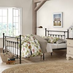 30 French Country Bedroom Design and Decor Ideas for a Unique and Relaxing Space - The Trending House Full Platform Bed, Metal Platform Bed, Upholstered Platform Bed, Memory Foam, Steel Bed Frame, Under Bed Storage, Adjustable Beds, Headboard And Footboard, Elegante Designs