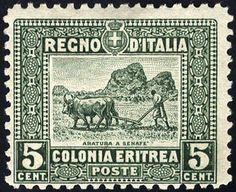 Italian Eritrea 1928/29, 3 valori, dentellati 11, alto valore firmato Caffaz, Sassone 129-31 / 300,-, Unificato 129-31  Dealer Filatelia Monster  Auction St...