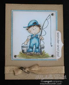 Wonder and Joy Boy 2010 by *Mischelle Smith* - Cards and Paper Crafts at Splitcoaststampers