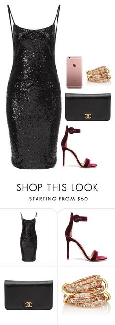 """."" by owl00 ❤ liked on Polyvore featuring Gianvito Rossi, Chanel and SPINELLI KILCOLLIN"