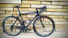 Colnago Gorgeous! Javier Herrera sent us this picture of his Colnago C60, and we can't take our eyes of the bike!
