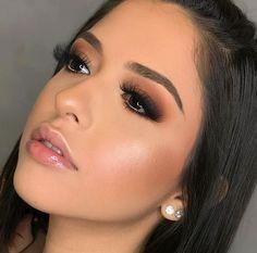 Makeup Hacks Online – Hair and beauty tips, tricks and tutorials Glam Makeup, Bridal Makeup, Wedding Makeup, Beauty Makeup, Hair Makeup, Hair Wedding, Gorgeous Makeup, Love Makeup, Makeup Inspo