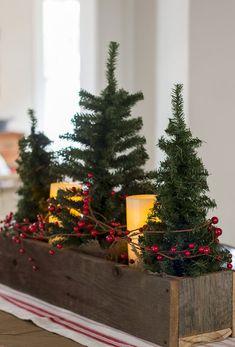 Farmhouse Christmas Decorating Ideas (28)