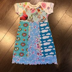 Really happy with this summer dress for my daughter. #sew #sewing #designauranah