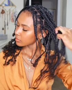 Black Girl Braided Hairstyles, Faux Locs Hairstyles, Twist Braid Hairstyles, African Braids Hairstyles, Protective Hairstyles, Natural Braided Hairstyles, Box Braids Hairstyles, Cornrow Braid Styles, Protective Style Braids