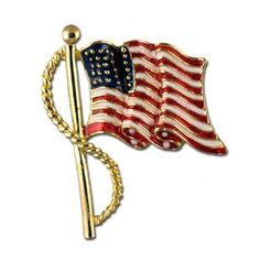 Enamel Flag Pin Stars & Stripes Products. $15.00
