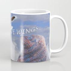 Smiling Coffee Mug by crismanart Coffee Mugs, Smile, Tableware, Art, Art Background, Dinnerware, Coffee Cups, Tablewares, Kunst