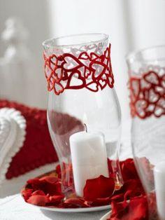 Red Wedding Theme | Wedding Centerpieces. http://simpleweddingstuff.blogspot.com/2014/02/red-weding-theme.html