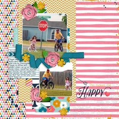 This Makes Me Happy by Mandy Ross. This is May Templates by Southern Serenity. This is May Digital Kit by River~Rose. Font: DJB Mandy R