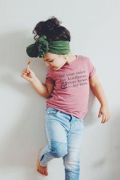 Kindness, toddler shirt, trendy toddler, newborn onesie, baby onesie, pregnancy announcement, baby announcement, kids clothing #VintageKidsFashion Kids Outfits Girls, Toddler Outfits, Baby Boy Outfits, Kids Girls, Pregnancy Outfits, Baby Girls, Baby Boy Fashion, Toddler Fashion, Kids Fashion