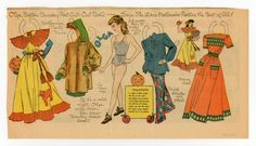 77.6185: Olga | paper doll | Paper Dolls | Dolls | Online Collections | The Strong