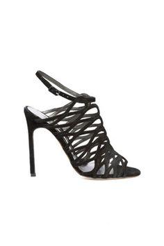 Manolo Blahnik fall 2013 shoes. Would break my neck in them but love 'em!
