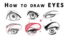 How to draw Eyes from Realistic to Anime style by reiq on DeviantArt