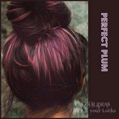 This is too cute! Big maybe on doing my hair this color definitely set on that pink/fusa color