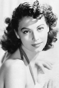 Ava Gardner...I think my Gramma looked like her when she was younger. Gramma  was so beautiful.  I realize that Ciara looks ALOT like Gramma.  Both very beautiful.