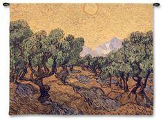 Olive Trees Vincent van Gogh